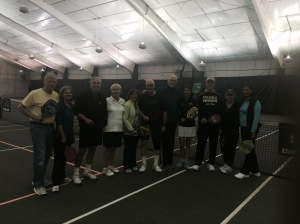 Belmont Pickleball Demo Attendees