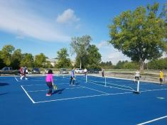 Sylvania Pickleball Club Courts, Centennial Terrace